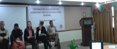 Partnership with MOHP, UNFPA, WHO and GIZ to foster Midwifery Education image